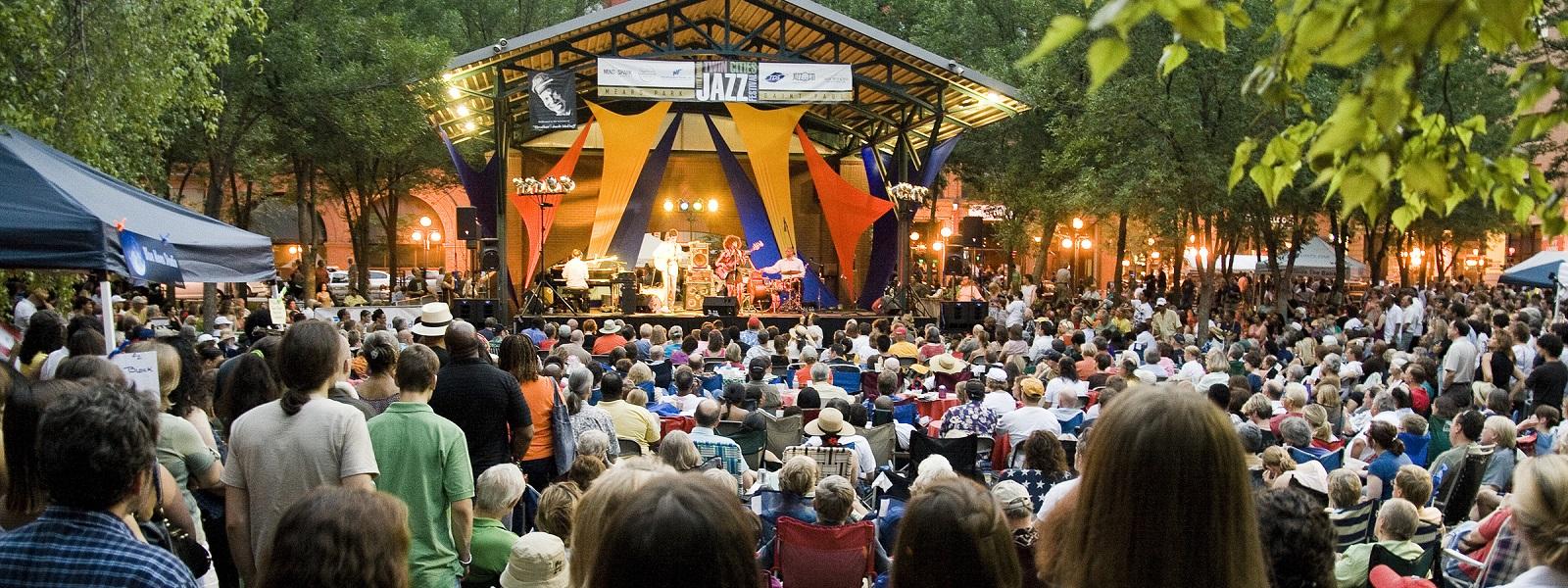 Twin Cities Jazz Festival - Mears Park, Lowertown, Saint