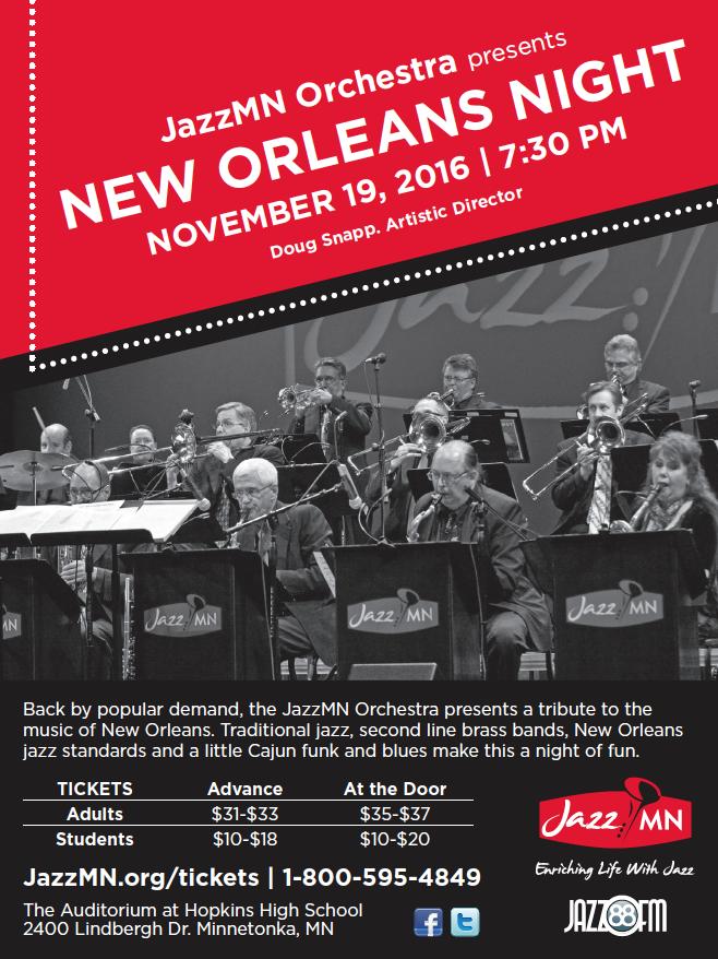New Orleans Night Jazz 2016